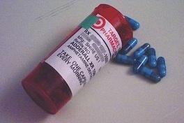 Adderall XR blue pills