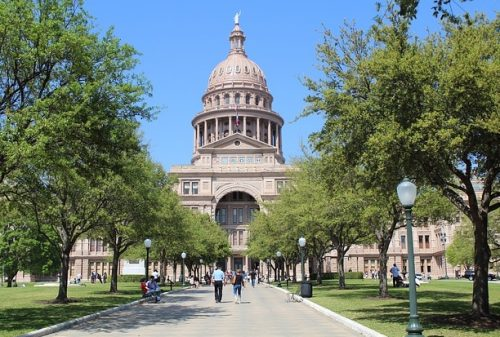 State Capital building of Austin TX